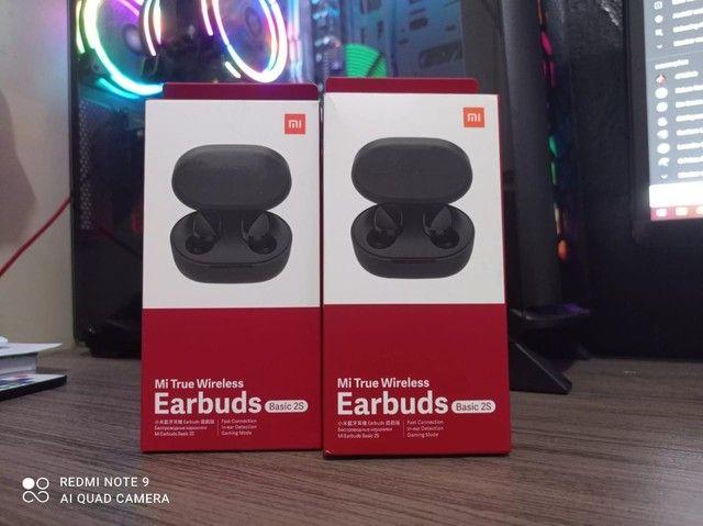 Fone De Ouvido Bluetooth Redmi Airdots 2s Lançamento Original e Lacrado