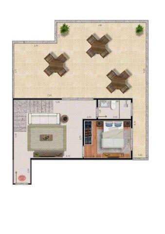 Apartamento com 2 dormitórios à venda, 74 m² por R$ 325.000,00 - Bairu - Juiz de Fora/MG - Foto 14
