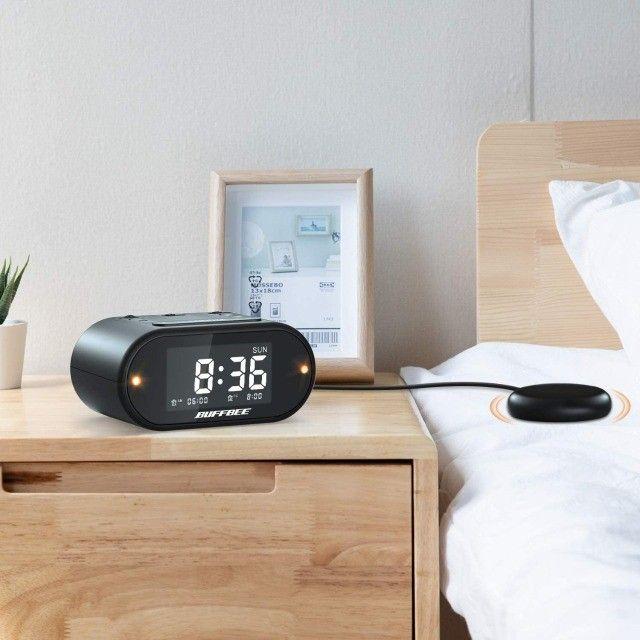 Relógio Despertador Vibração Para Surdo/def. Aud. (3 mes de garantia)