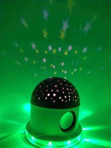 Abajur Luminária céu estrelado com Bluetooth ? ?: