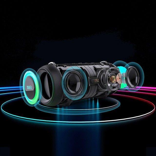 Caixa de Som Bluetooth Mifa A90 Potência 60w - Original - Foto 6