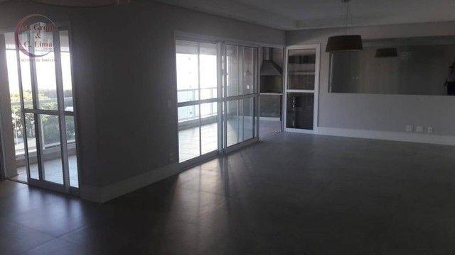 Apartamento com 4 dormitórios para alugar, 245 m² por R$ 6.500,00/mês - Jardim das Colinas - Foto 2