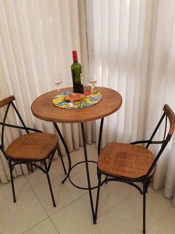 Cadeira Vintage X Rústica  - Foto 5