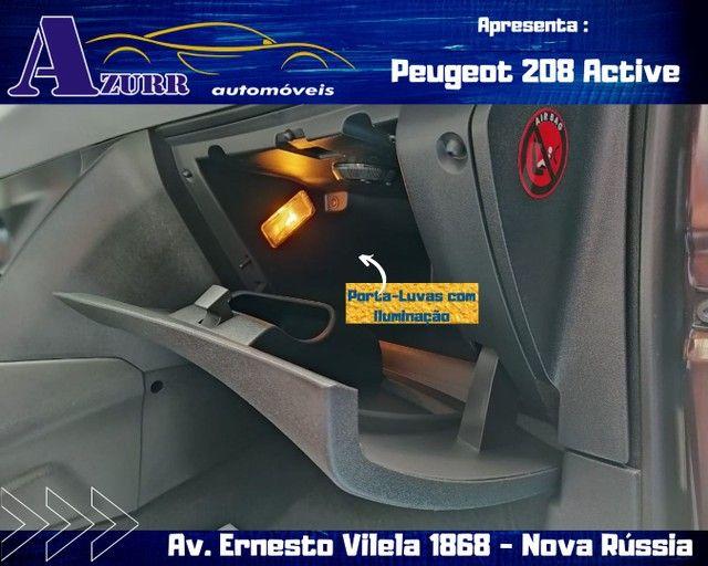 PEUGEOT 208 ACTIV COMPLETO 1.5 FLEX REVISADO GARANTIA BAIXA KM IMPECÁVEL   - Foto 12