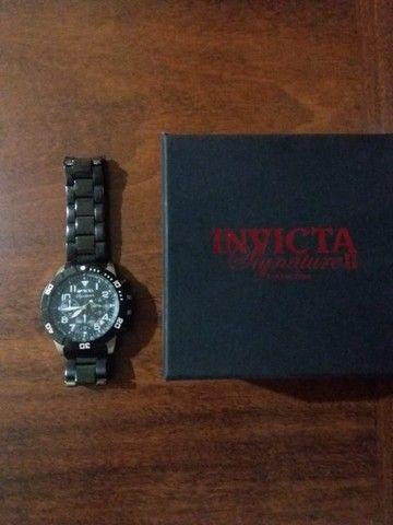 Relógio masculino com mostrador preto Signature II Chronograph 7351 - Foto 2