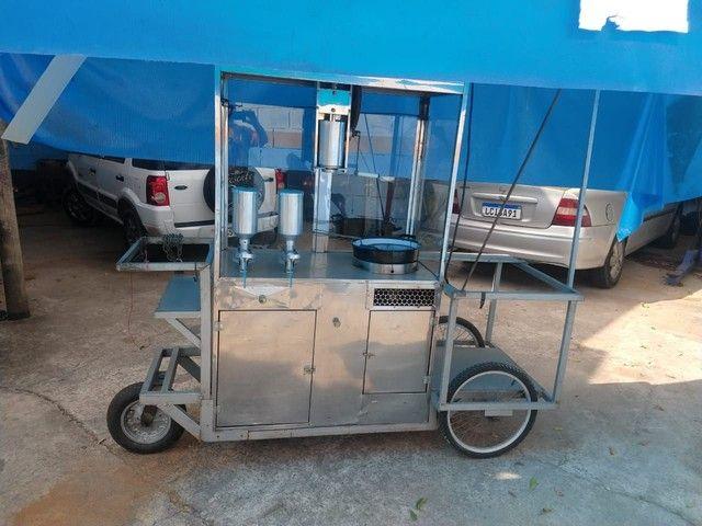 Vendo carrinho completo para churros