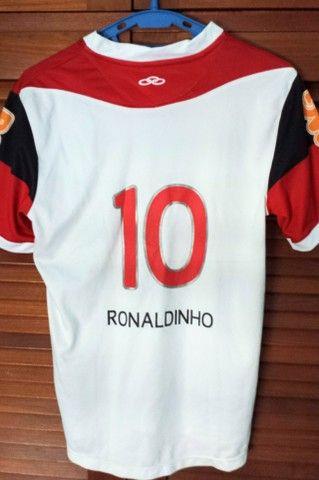 Camisa Flamengo #10 Ronaldinho