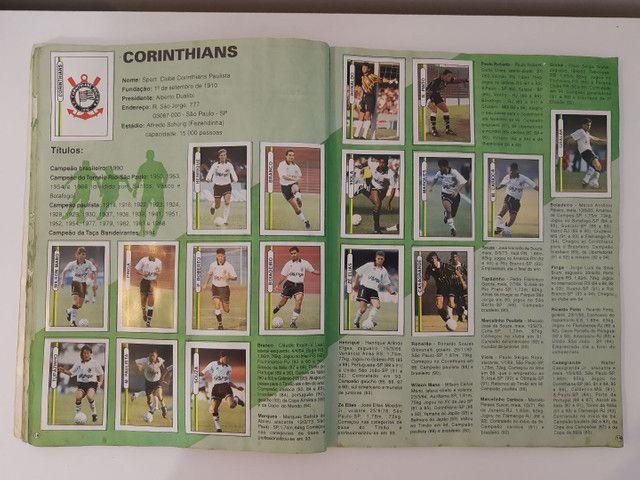 Album de figurinhas [quase] completo campeonato Brasileiro 1994 - Foto 4