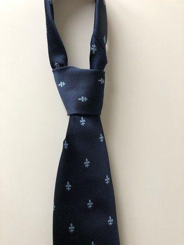 Gravata - Cor Azul Marinho (Produto Novo)