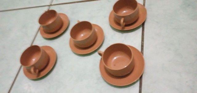 Xícaras para cafezinho acrílico