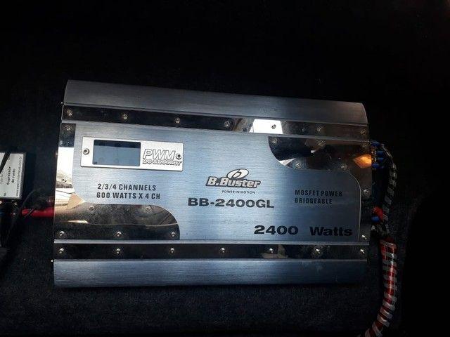 Modulo B buster 2400 whats rms - Foto 3