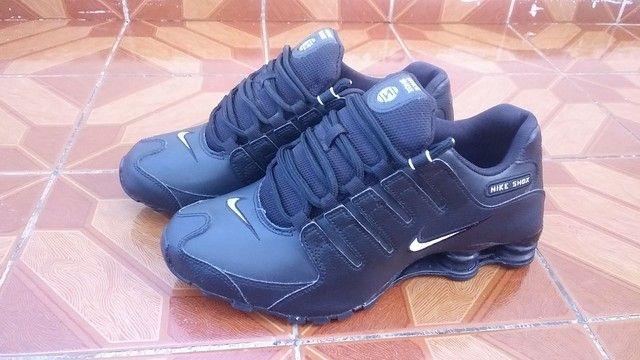Sapato Nike Shox Nz Preto, 41 - Foto 5