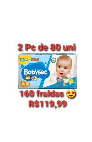 Kit fralda babysec ultrasec M - Foto 2