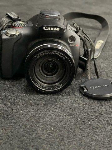 Câmera Canon SX40 HS - Foto 4