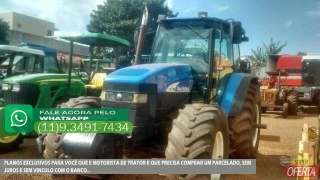 Trator Ford/New Holland TM 180 4x4 ano 06