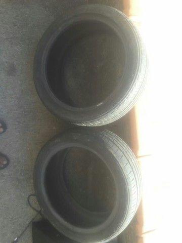 Vendo ou troco rodas aros 17 com pneus novos