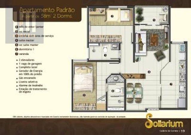 Apartamento no Condomínio Sollarium em Flores. - Foto 19