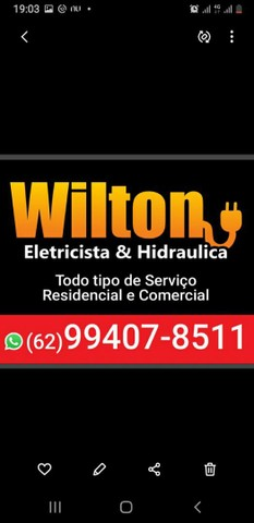 Eletricista hidráulicas serviços diversos sábados e feriados