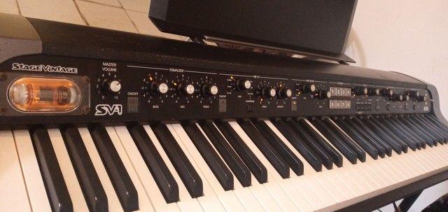 Piano Korg Sv1-73 bk - Foto 2