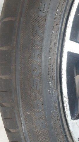 aro 17 com pneus aceito cartão ...4 ×100 - Foto 4