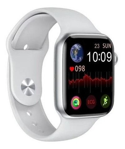 Smartwatch Iwo W26 Android Ios Tela Infinita 40mm Branco - Foto 4