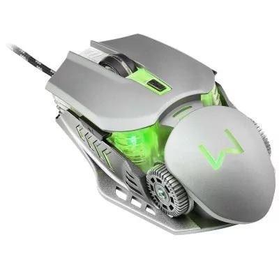 Super Mouse Gamer Mecanico Multilaser warrior keon mo268 top de linha - Foto 2