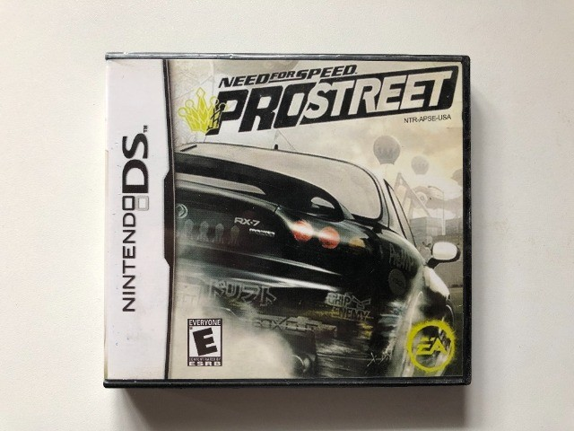Jogo Need For Speed ProStreet Nintendo Ds
