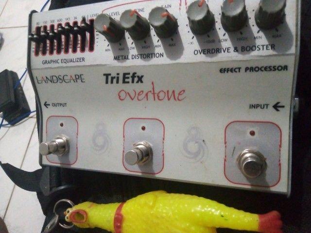 Pedal Tri Efx Over Tone - Foto 2