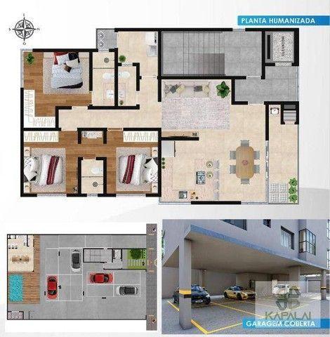 Apartamento com 3 dormitórios à venda, 105 m² por R$ 750.000 - Tabuleiro - Barra Velha/SC - Foto 3