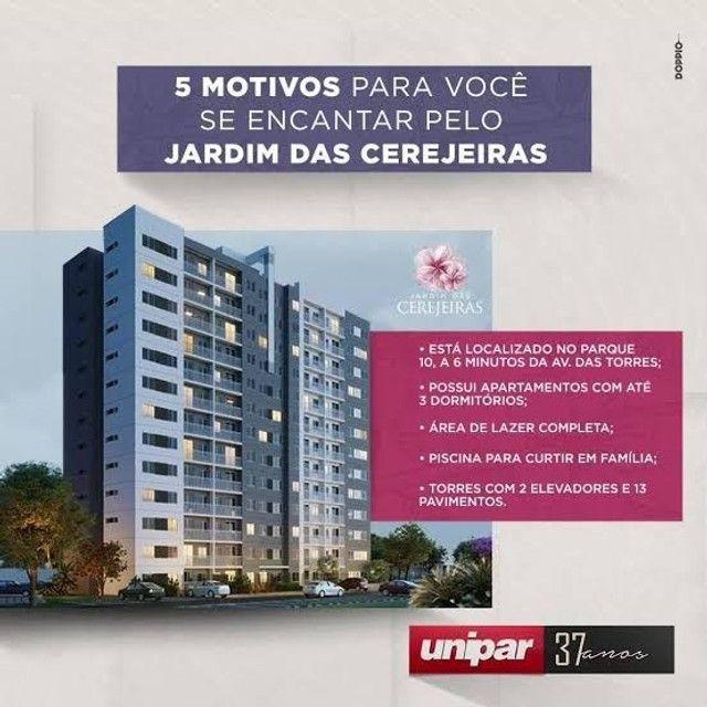 P- Jardim das Cerejeiras no Parque 10 _ 2 Qts Entrega em 2022! - Foto 8