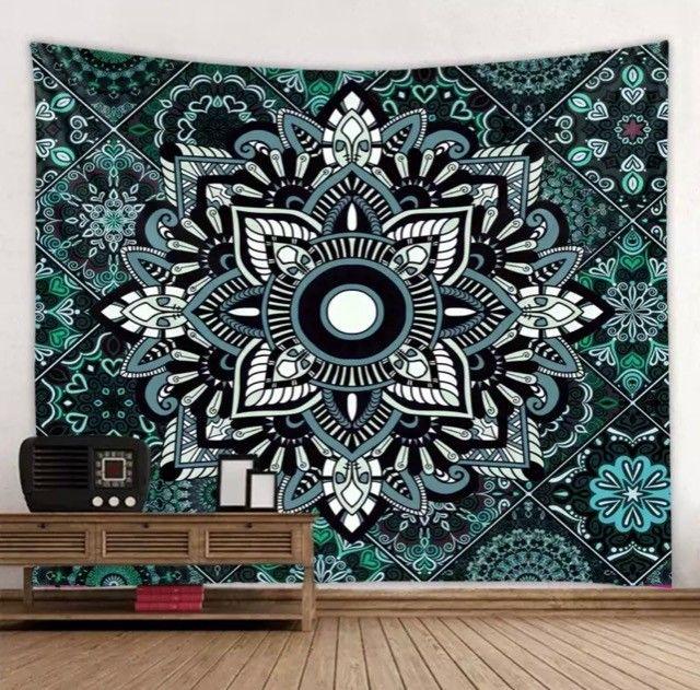 Tapete decorativo em tecido - Mandala da Criatividade