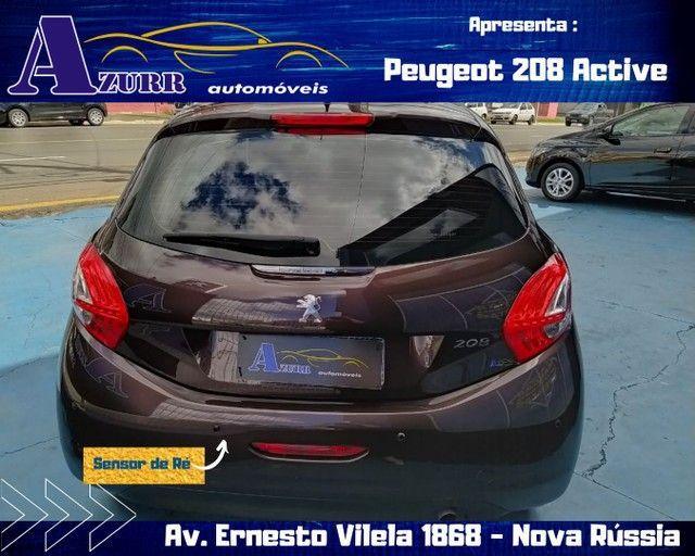 PEUGEOT 208 ACTIV COMPLETO 1.5 FLEX REVISADO GARANTIA BAIXA KM IMPECÁVEL   - Foto 5