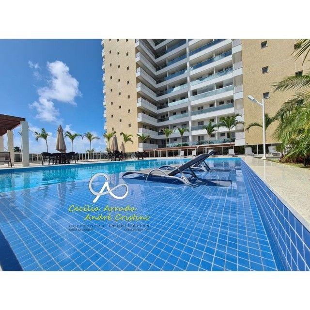 apartamento 4/4 suítes, varanda gourmet, vista livre permanente, Jardins, Aracaju/SE - Foto 11