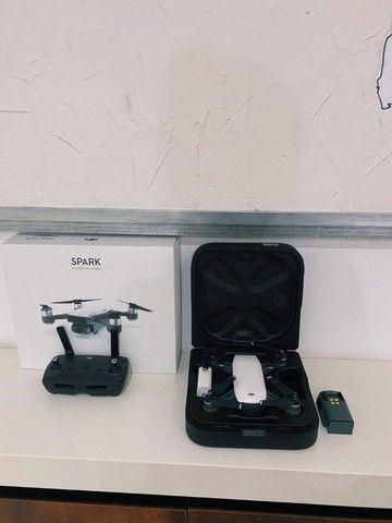 Drone DJI Spark - Com controle e bateria sobressalente - Foto 4