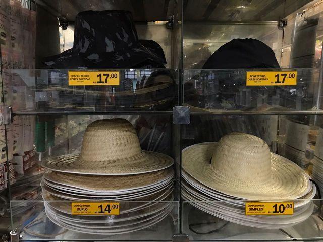 Chapéu de Tecido ou de Palha a pronta entrega - Foto 3