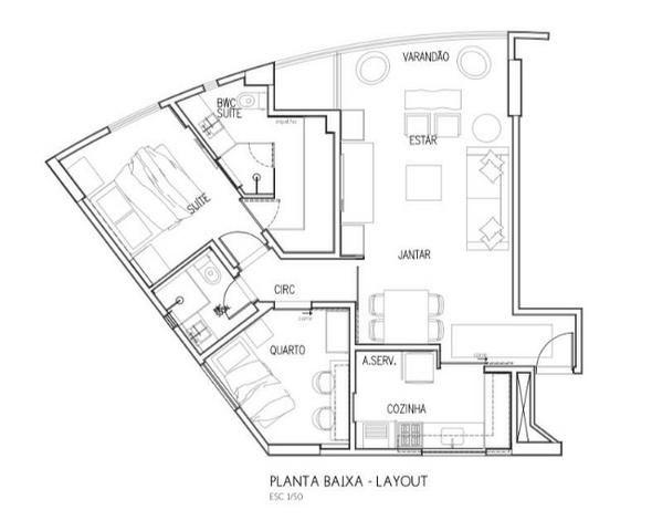 Excelente Apartamento em Setúbal, 03 Quartos, Suite, Lazer Completo, Andar Alto