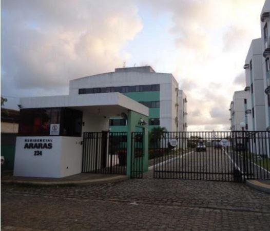 Oportunidade, Apto com 60m 2/4 sendo 1 suite no Residencial Araras em Nova Parnamirim