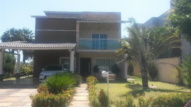 CA0054 - Casa Duplex com 300 m² de área construída no Alphaville Eusébio