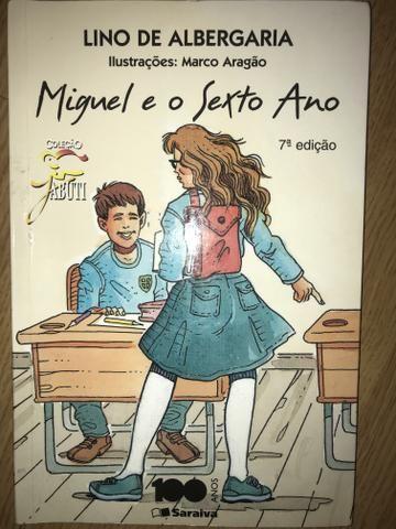 Livro Miguel e o sexto ano