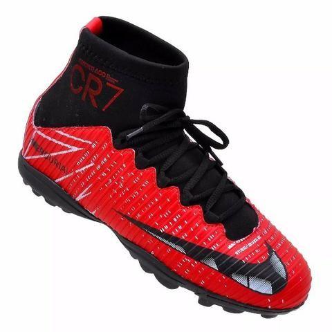 Chuteira Nike campo Botinha Cr7 n 35 - Roupas e calçados - Jardim ... f38aa606ffae9