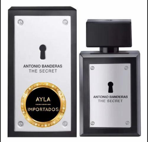 3 x R$: 39,66 Perfume Antonio Banderas The Secret 100ml