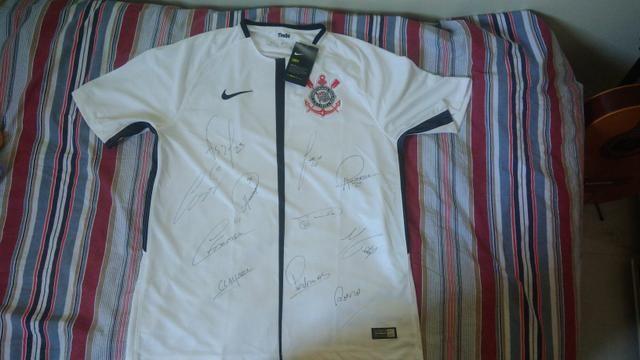 Camisa oficial Corinthians Autografada - Roupas e calçados - Vila ... b95c9b347a5c9