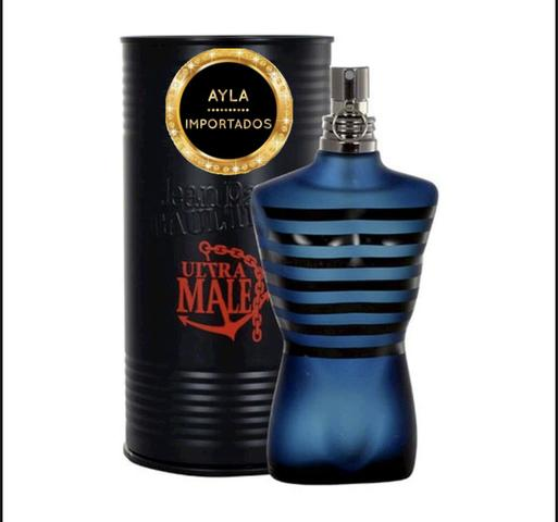 5 x R$: 79,80 Perfume Jean Paul Gaultier Ultra Male Intense 125 ml