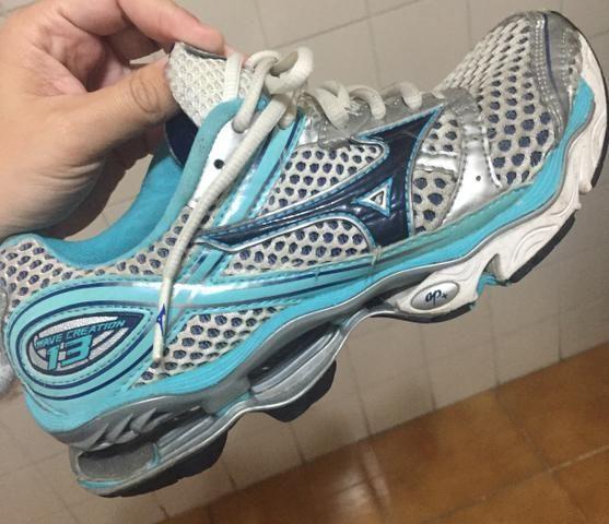 399b53effd593 Tênis Mizuno Wave creation 12 N. 36 - Roupas e calçados - Jardim ...