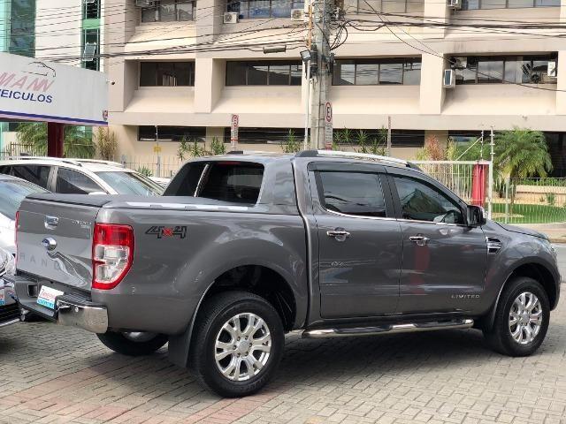 Ford Ranger Limited 3.2 4x4 Diesel 2019 Top de Linha Unico dono - Foto 4