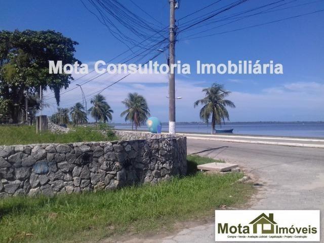 Mota imóveis - Tem em Frente a Lagoa na Pontinha Terreno de 585m² com Rgi TE- 231 - Foto 2