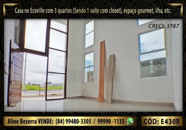 Oportunidade, duplex no Ecoville, com 3 quartos, cozinha com ilha, sala alta, confira - Foto 2