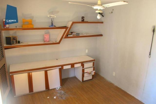 Apartamento com 3 dormitórios para alugar, 100 m² por R$ 1.600/mês - Papicu - Fortaleza/CE - Foto 20