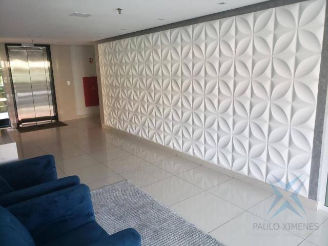 Apartamento novo com 3 dormitórios para alugar, 81 m² por r$ 1.700/mês - engenheiro lucian - Foto 18