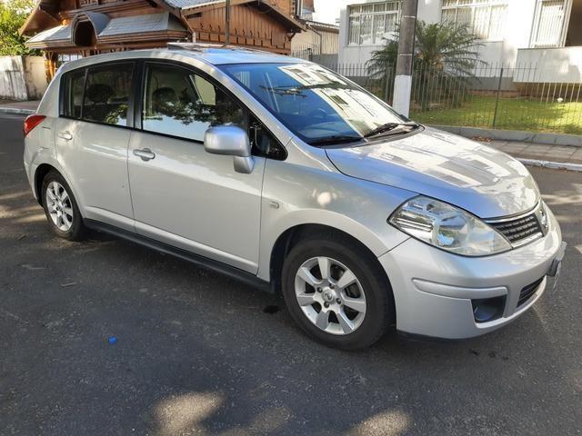 Nissan tiida 2008 automático com teto solar e GNV - Foto 3